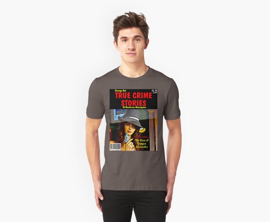 True Mannequin Crime T-shirt by John Ayo