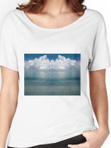 Tropical beach (Curaçao) Women's Relaxed Fit T-Shirt