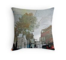 Along the Strand Throw Pillow