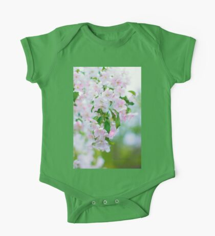 Apple Blossoms One Piece - Short Sleeve