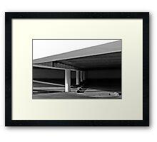 Garage Framed Print
