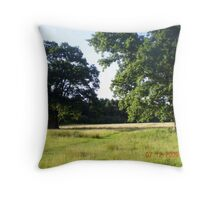 'Two Tree Field' Throw Pillow