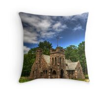 Colgate Church, Jewett, NY Throw Pillow