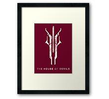 Destiny - The House of Devils Framed Print