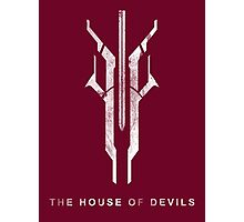Destiny - The House of Devils Photographic Print