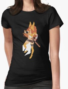 Angela Simplistic Womens Fitted T-Shirt