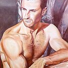 Chad @ www.KeithMcDowellArtist.com   by  Keith McDowell, Artist