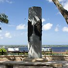 Ribault Monument by Joe Norman