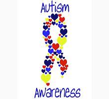 Autism Awareness Hearts Unisex T-Shirt