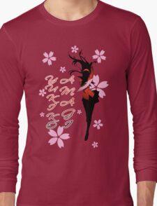 Yukiko Amagi Cherry Blossoms Long Sleeve T-Shirt