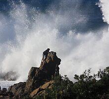 Surf at Little Watego's Beach, Byron Bay by Nicholas Ward