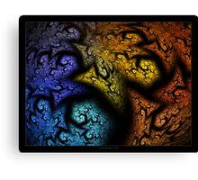 """Tree of Three"" - Fractal Art Canvas Print"