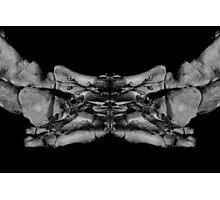 Skeleton Feet Photographic Print