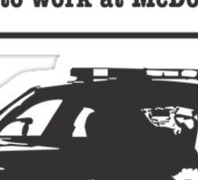 274 Cop Car3 Sticker