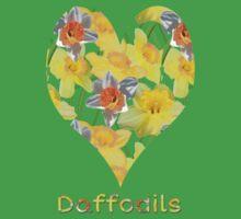 Daffy Daffodil Baby Tee