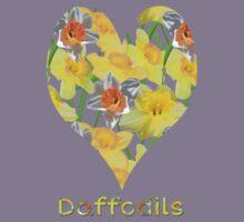 Daffy Daffodil Kids Tee