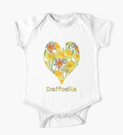 Daffy Daffodil One Piece - Short Sleeve