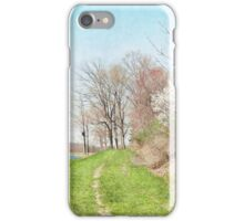 May day at the lake iPhone Case/Skin