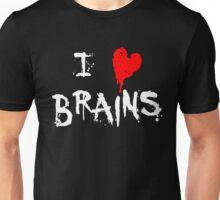 I HEART BRAINS.... Unisex T-Shirt