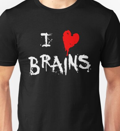 I HEART BRAINS.... Unisex T-Shirt