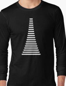 White Lines Long Sleeve T-Shirt
