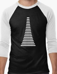 White Lines Men's Baseball ¾ T-Shirt