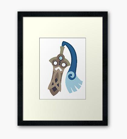 Honedge Pokemon Framed Print
