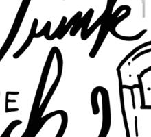 Drink the Jack!  Sticker