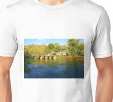 River Wye, Monsal Dale Unisex T-Shirt