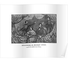 Assassination of President Lincoln Poster