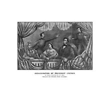 Assassination of President Lincoln Photographic Print
