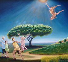 Annunciation: Les Enfants Entendent by Juan Romagosa