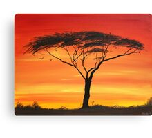 Series of Sunset Canvas Print