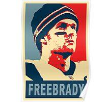 #FreeBrady - New England Patriots - #deflategate Poster