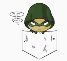 Green Arrow in your pocket Kids Clothes