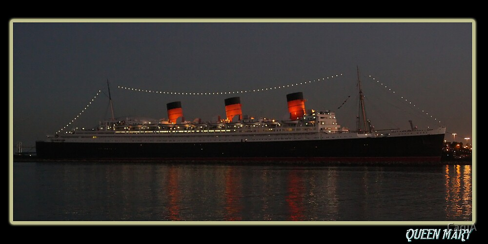 The Queen Mary by CaryA
