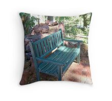 Peaceful Sitting Place Throw Pillow