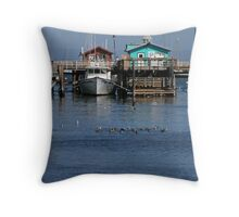 Harbor Life Throw Pillow