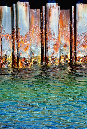 Rusty Palette by Trish Woodford