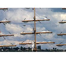 Masts Of Pallada Photographic Print