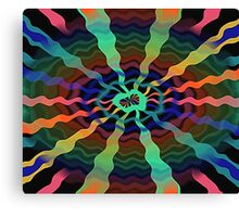 Colorful Airwaves  Canvas Print