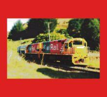 Kiwi Rail - The Dairy Train One Piece - Short Sleeve