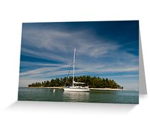 Anchorage at Cabbage Island Greeting Card