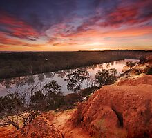 Sunrise at Heading Cliffs by KathyT