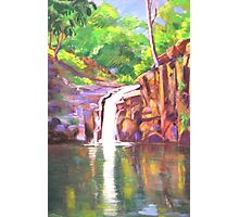 Waterfall Victoria Park  Alstonville NSW Photographic Print