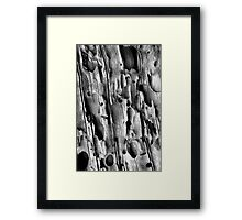 Potholes Framed Print