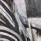 Collaged Abstract 9(Study) by Josh Bowe