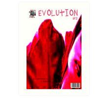 EVOLUTION COVER NO  2 Art Print