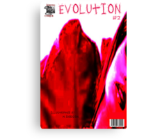 EVOLUTION COVER NO  2 Canvas Print
