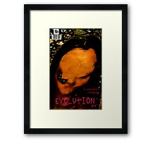 EVOLUTION N0 4 COVER Framed Print